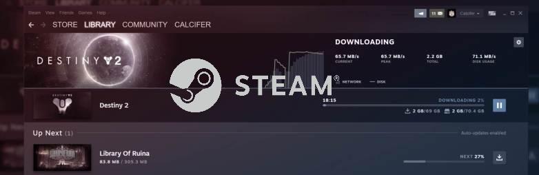更直观易用:Steam下载及存储UI迎来更新