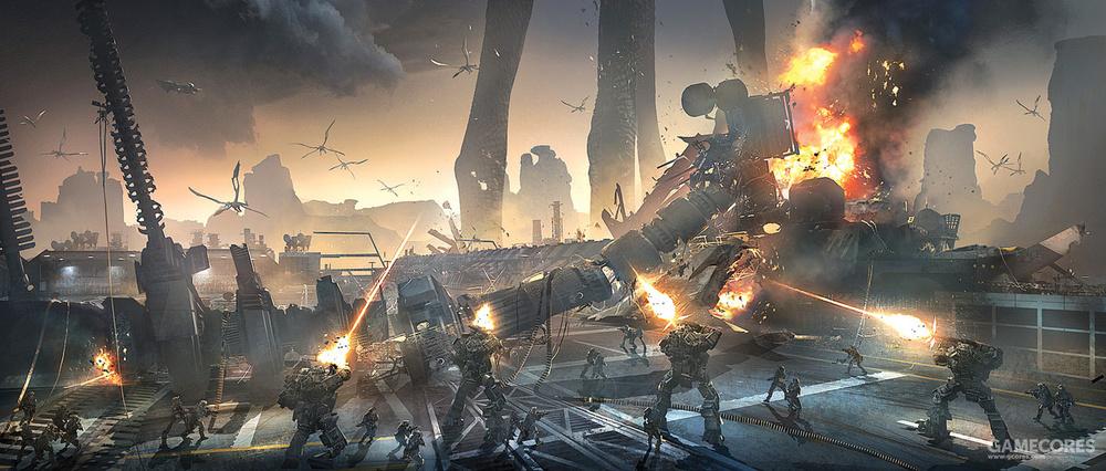 反抗军对基地发动的突袭