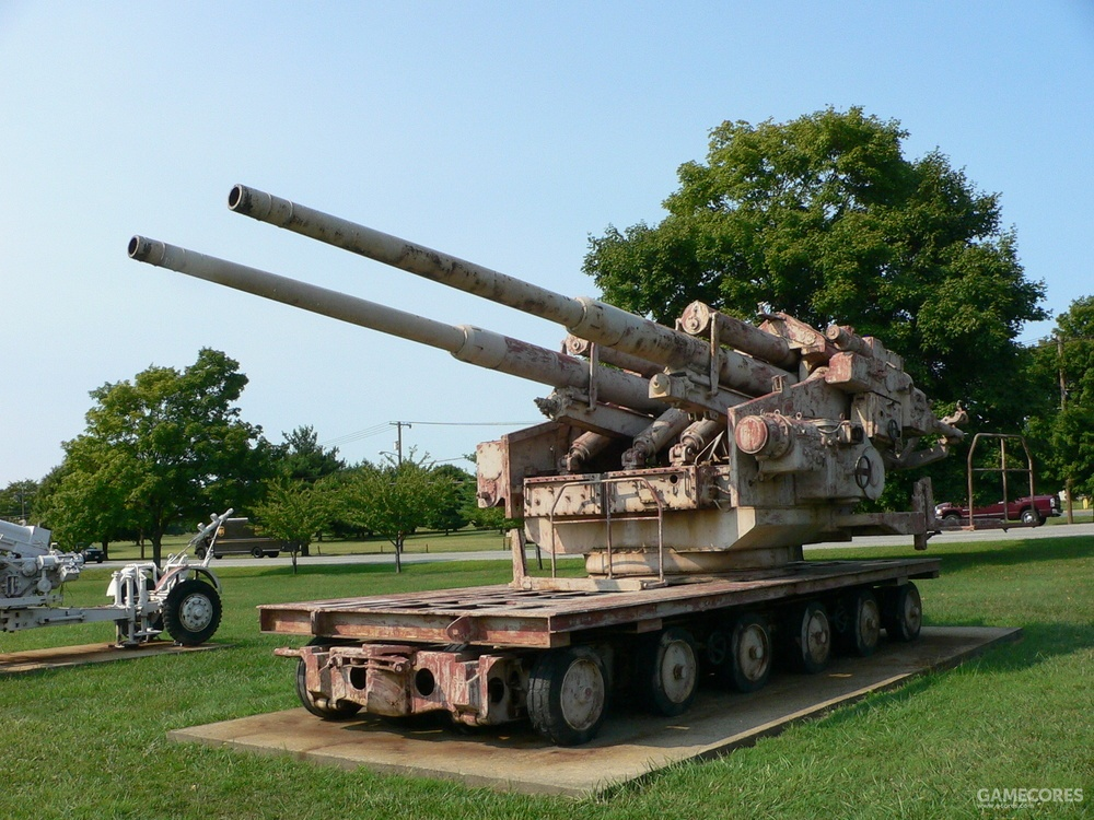 双联128毫米高炮