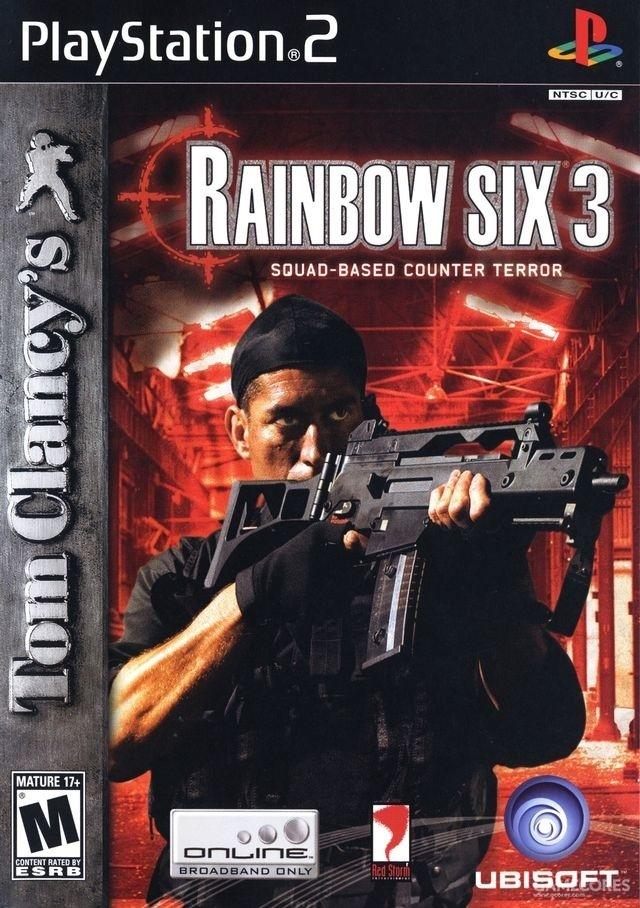 《彩虹六号3》PS2版封面