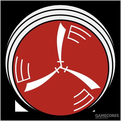 """124""""滚刀""""中队队徽"""
