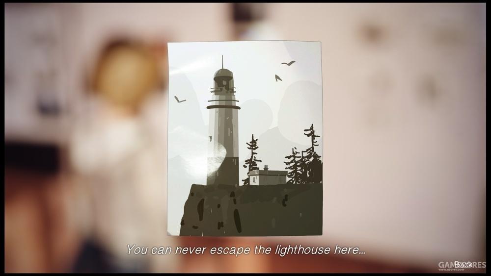 现实中灯塔的照片,屹立依旧