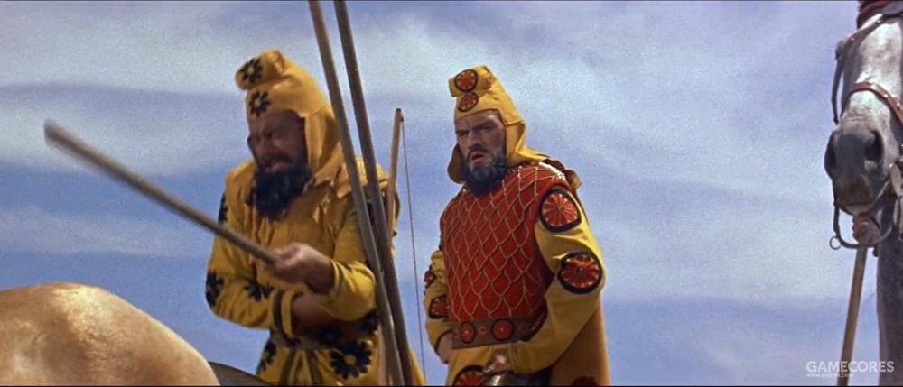 1956年版,由英国演员哈利·安德鲁斯饰演