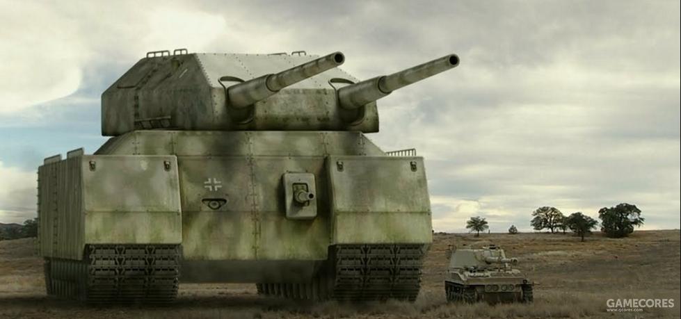 双联280毫米主炮的P.1000