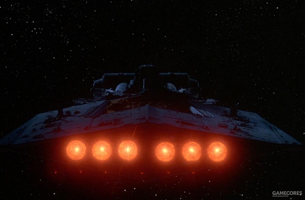 """""""锤头号""""无畏舰,其登场的长镜头也基本照搬《新希望》开场"""