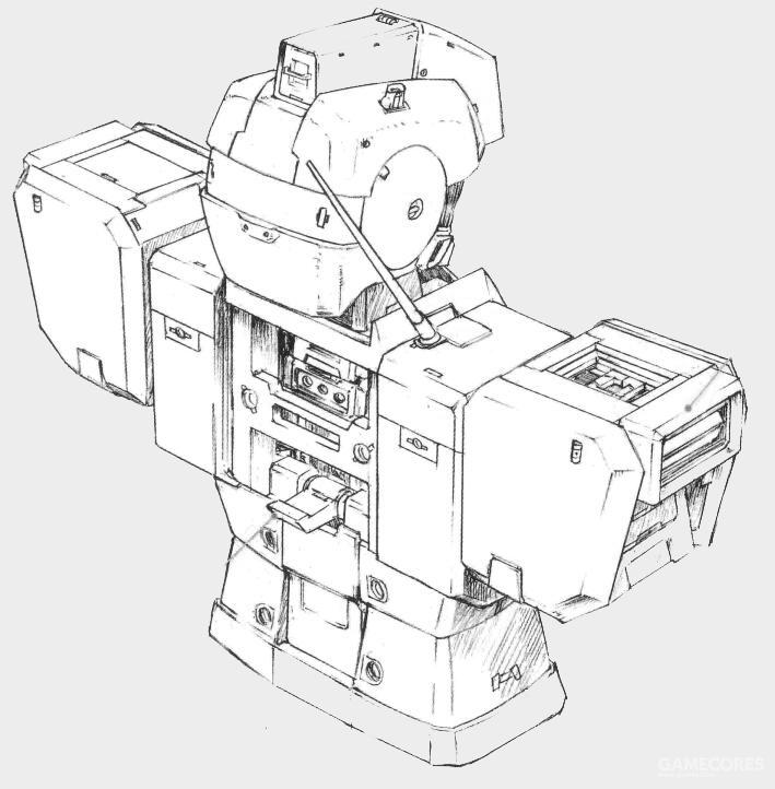 RGM-79G/GS除了背包结构外基本相同。作为预定的指挥官机,其在肩部追加了额外的通讯天线以强化通讯能力。