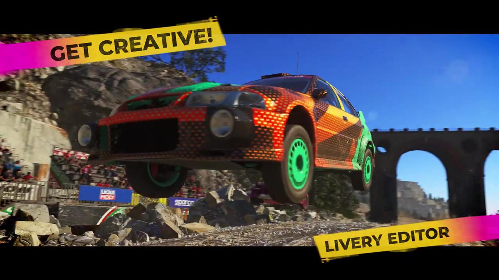 《DIRT 5》发布全新预告片,展示游戏多项功能与模式