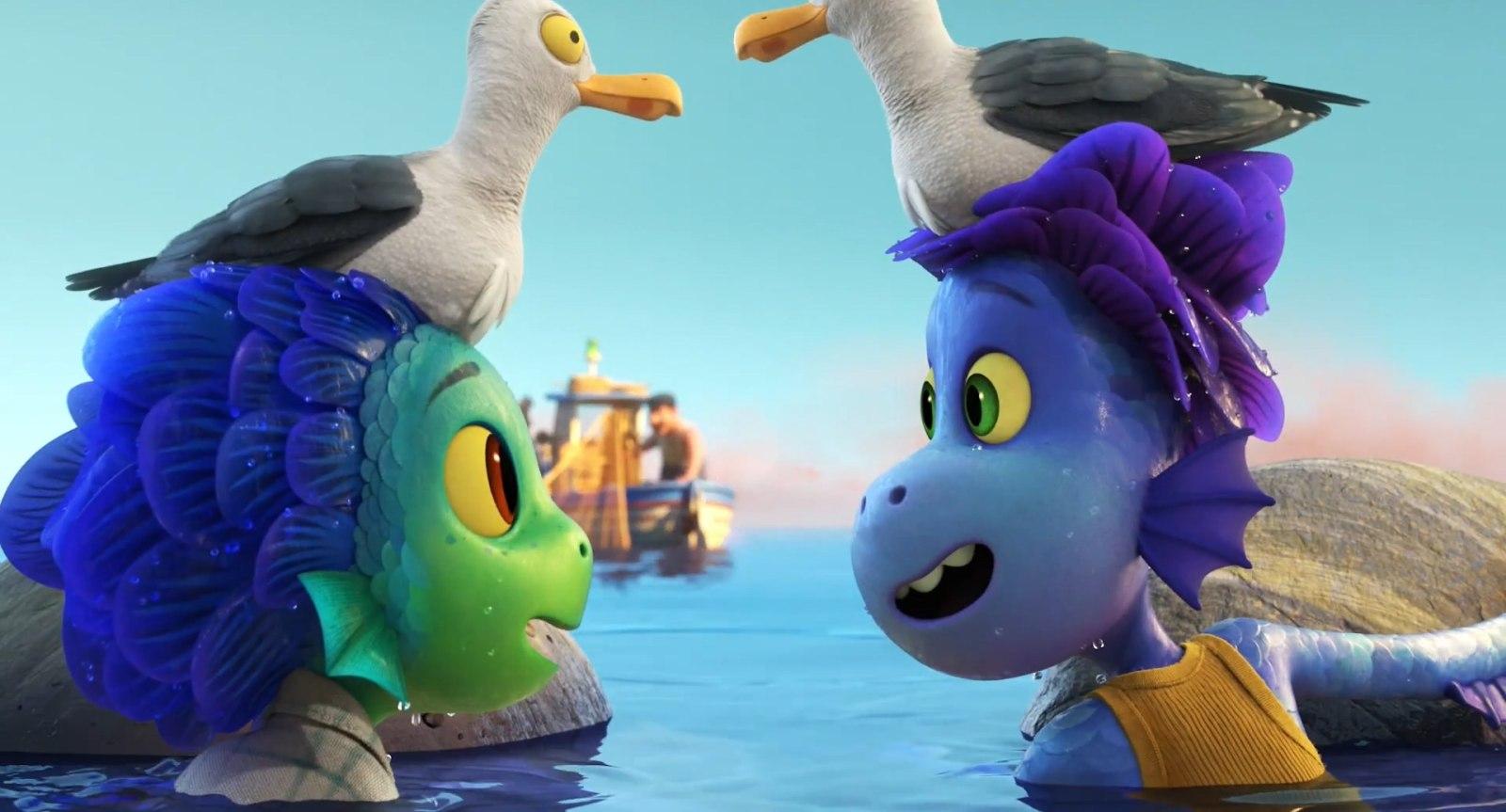 皮克斯动画电影《夏日友晴天》放出第二支预告,6月18日登陆Disney+