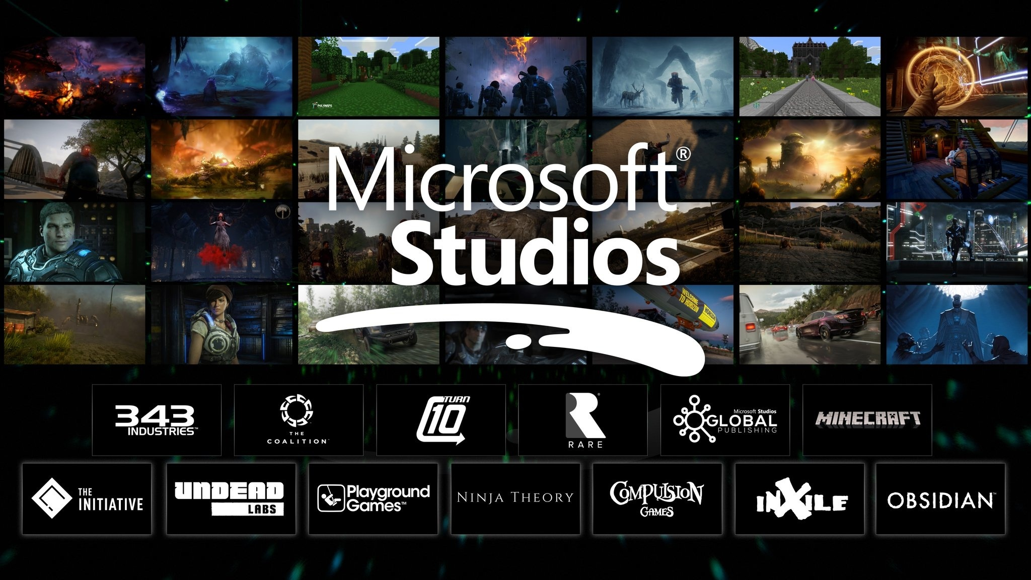 微軟XBOX宣佈收購Obsidian和Inxile兩家工作室