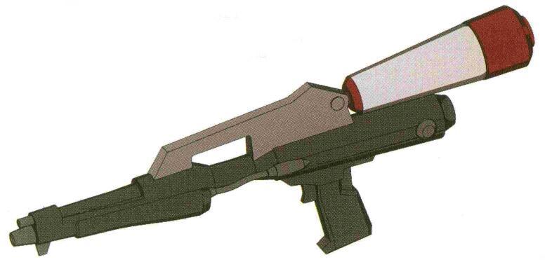 RGM-79SP能够使用XBR-M-79系列光束步枪。不过配备在宇宙部队时,主力光束武器更喜欢选择和RGM-79GS通用的BG-M-79F-3A光束枪。