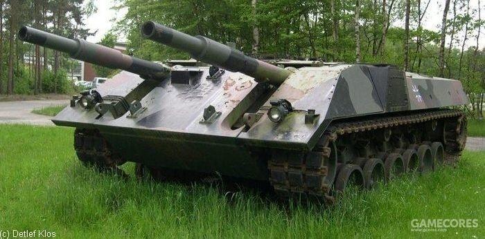 双联105毫米炮的VT 1-1