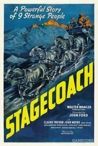 《关山飞渡》1939年,海报