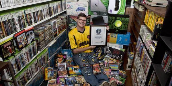 收藏游戏最多的玩家,吉尼斯认证