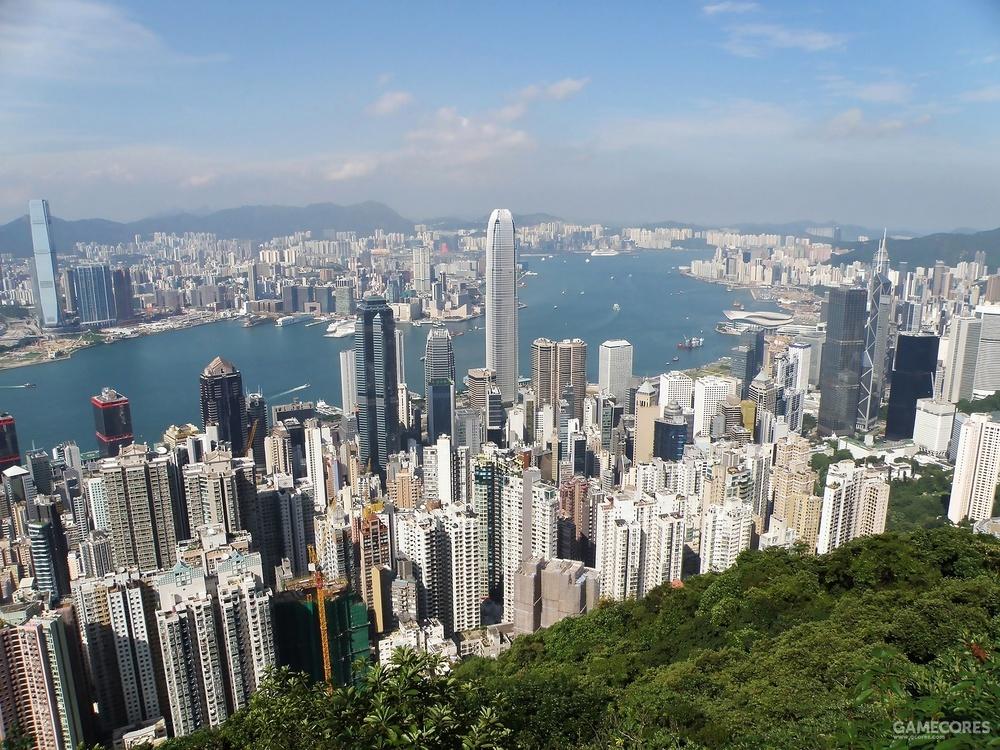 如今的香港