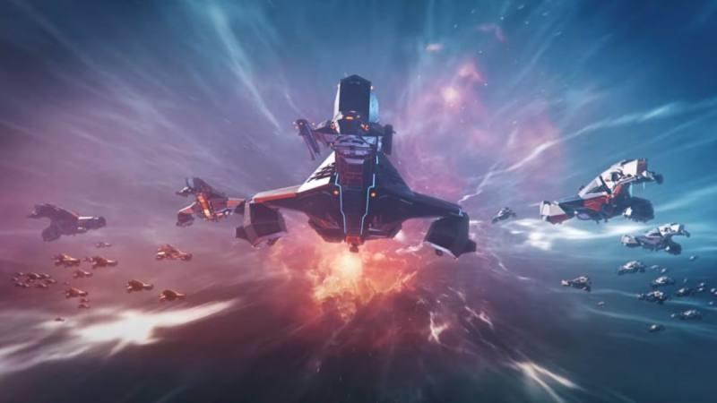 全新的舰队跃迁阵形:《EVE星战前夜》发布新资料片《王朝(Reign)》2021第一象限更新宣传片