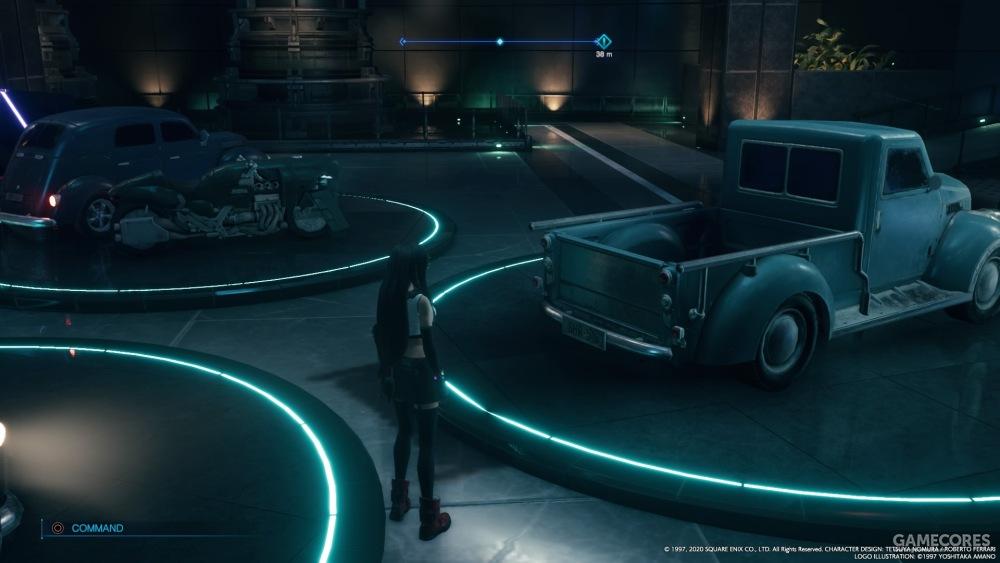 我说蒂法啊,你看这卡车,多好,为啥你还是选了辆三轮呢