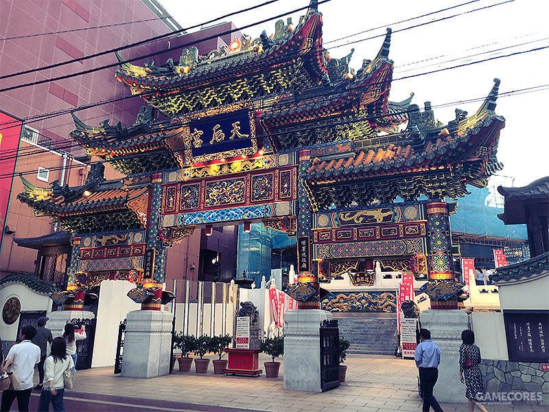 妈祖庙也是横滨中华街一个比较有著名的打卡景点