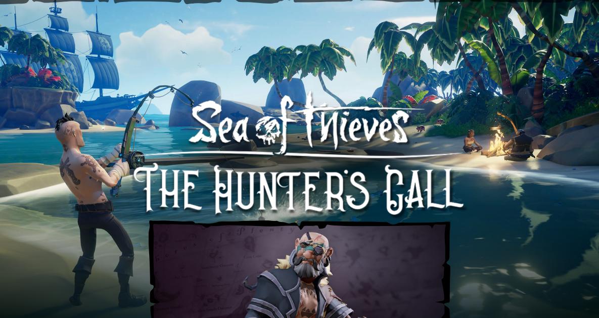 钓鱼,狩猎和烹饪!《盗贼之海》放出周年更新预告片