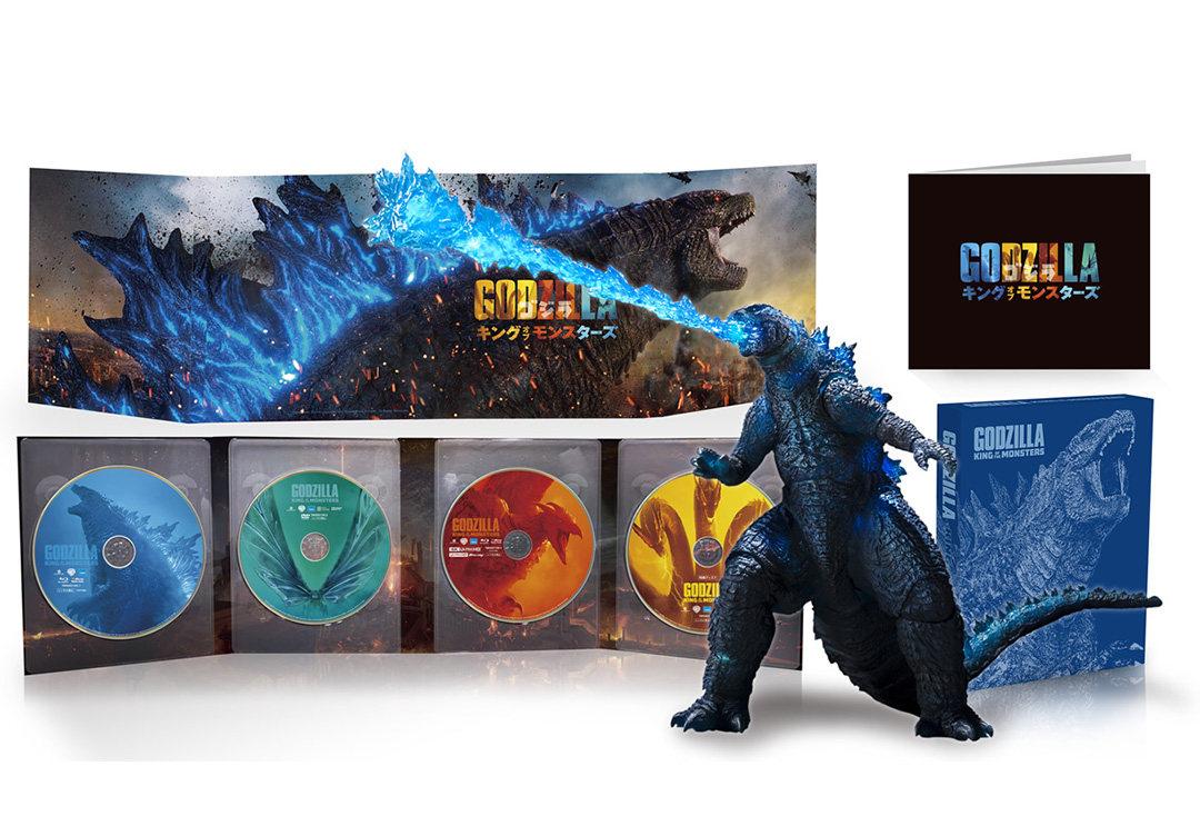模型影碟一起卖,日本将推出《哥斯拉2:怪兽之王》豪华影碟套装