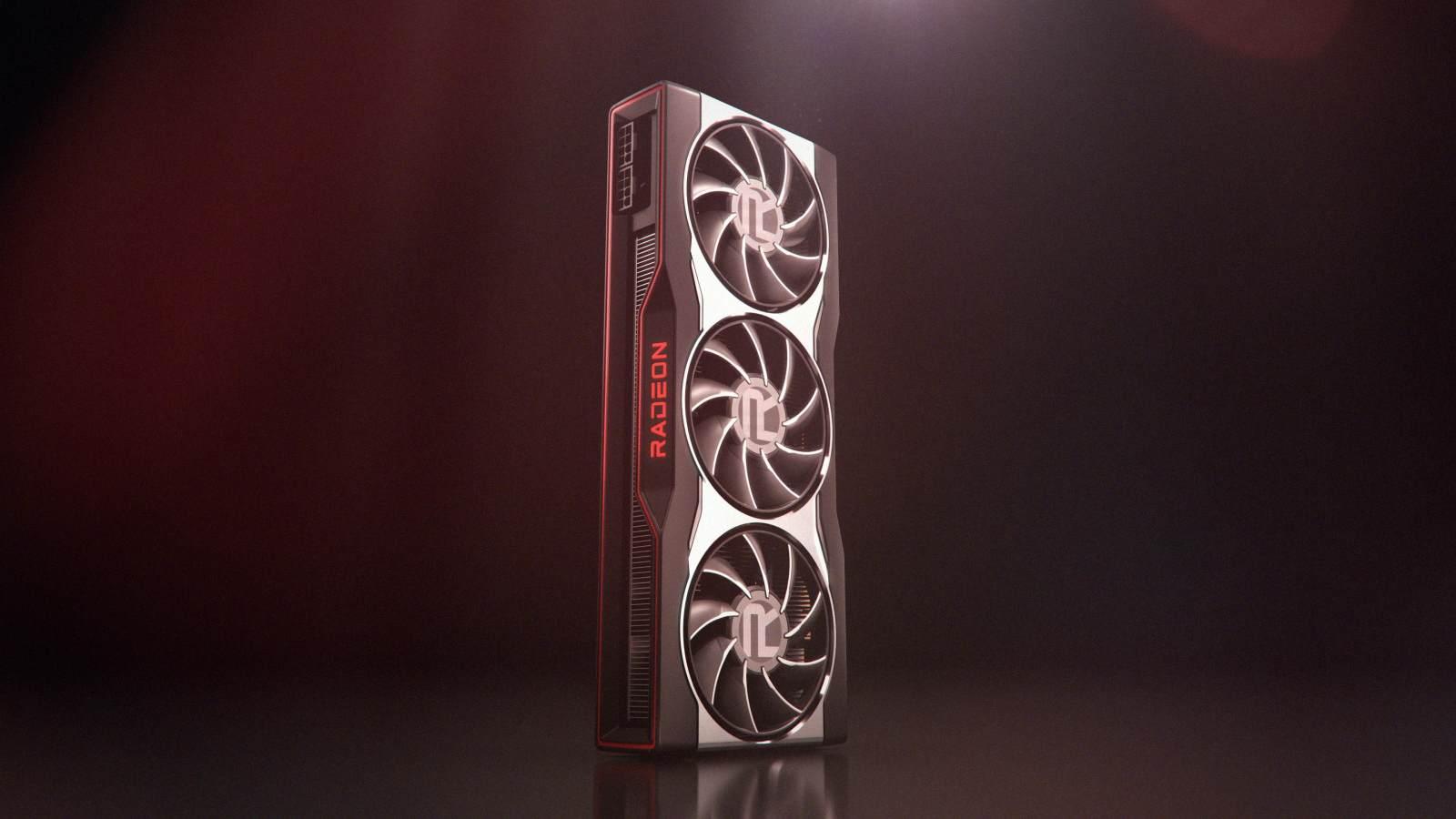 AMD公开Radeon RX 6000系列显卡效果图