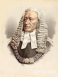 """亚历山大·科伯恩是维多利亚时代出名的花花公子和英格兰首席大法官(1874-1880),生于哈布斯堡家族统治的特兰西瓦尼亚。他的主要成就就是在维多利亚女王诉希克林案件对淫秽的定义为""""希克林法"""""""
