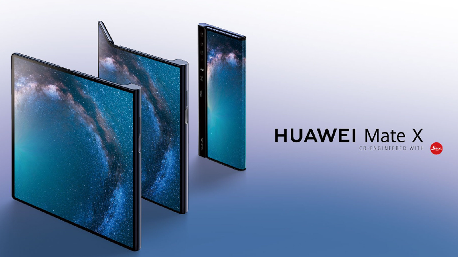 華為公佈首款5G摺疊屏手機Mate X,售價1.75萬人民幣!