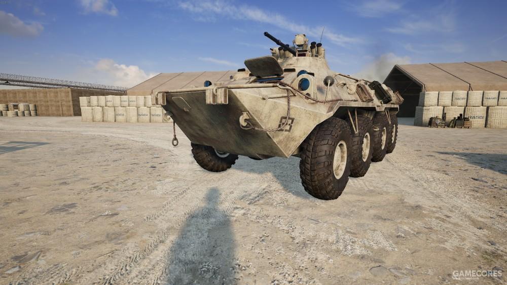 BTR-82A 步兵战车