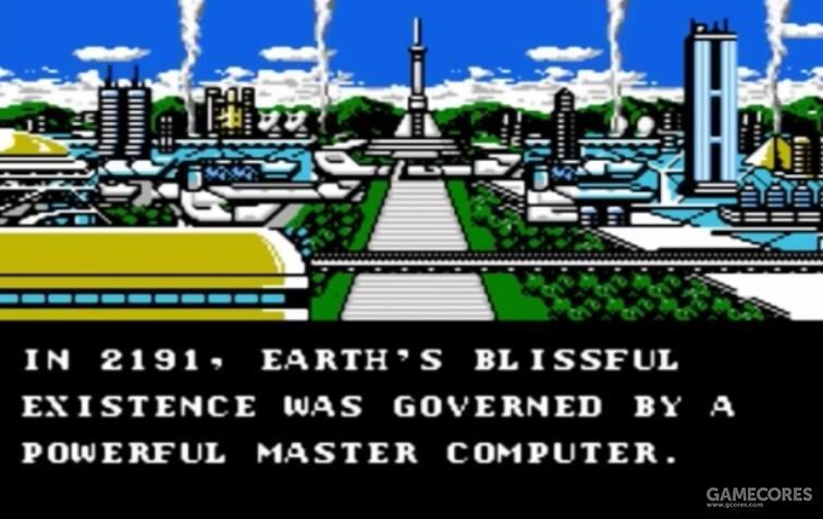 美版剧情是控制世界的超级计算机发生叛乱
