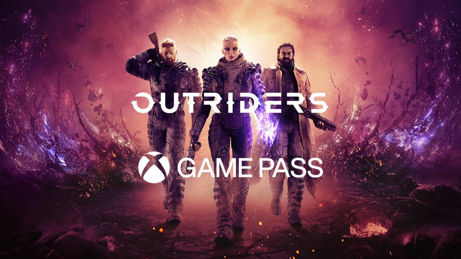 《Outriders》将于发售时,加入Xbox Game Pass