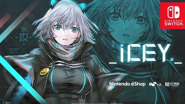 《ICEY》登陆NS平台,5月31日开卖!