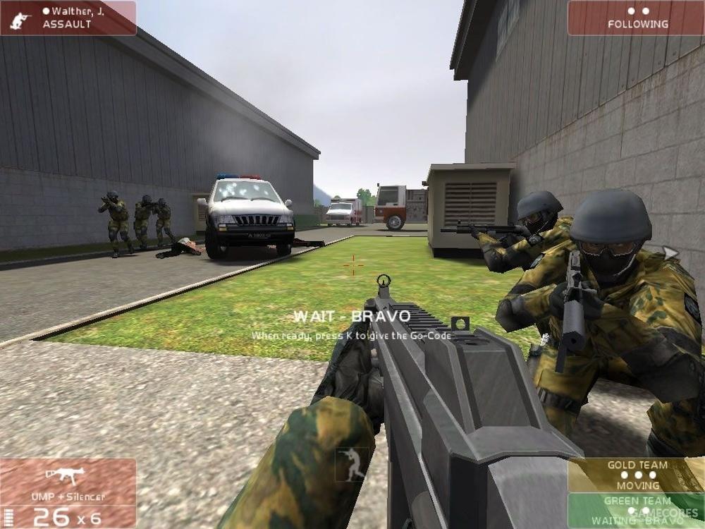 《彩虹六号3:盾牌行动》游戏画面