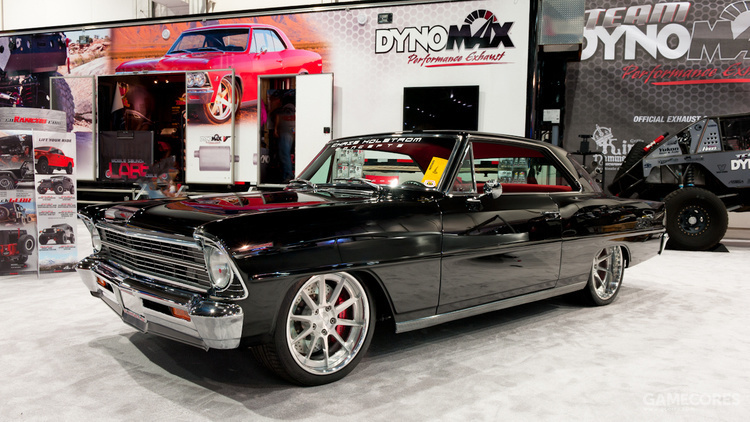 Chris Holstrom Concepts 1967 Chevy Nova 2013年SEMA获奖车辆