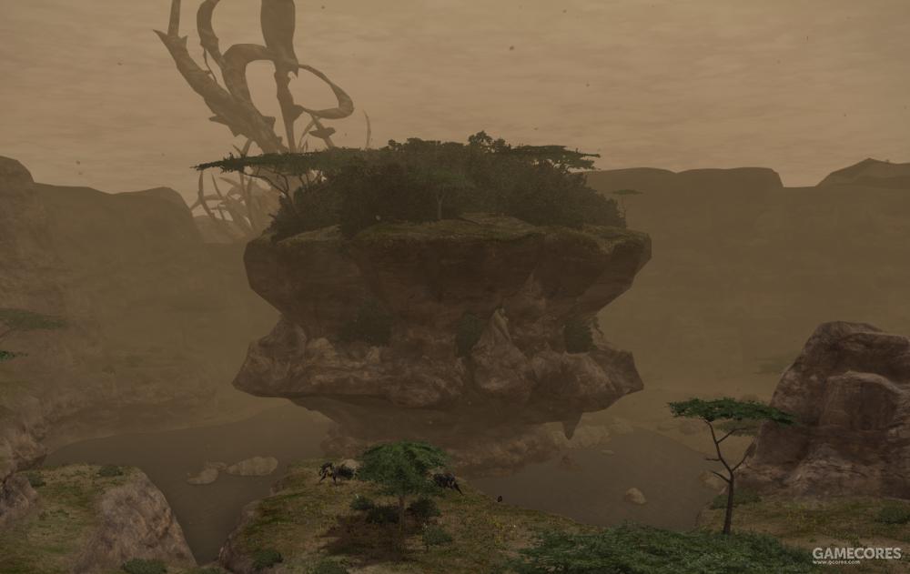 位于执掌峡谷的巨大卫月碎片,因为看起来很像邪恶生物诞下的卵,而取名为邪嗣