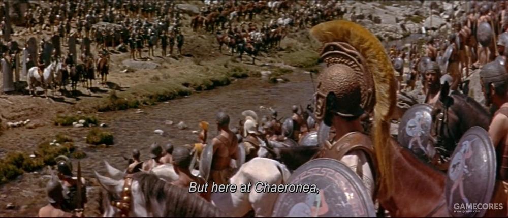 片中的战场,显然和历史上不一样
