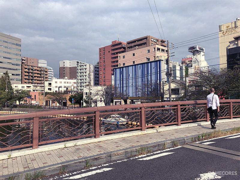 在宫川桥上眺望远方,试玩版游戏中有这个场景