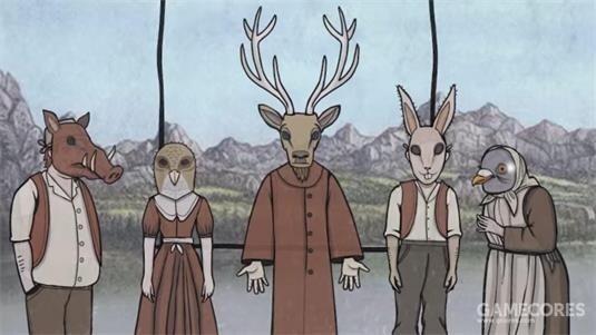 野猪、野雉、鹿、兔子以及鸽子