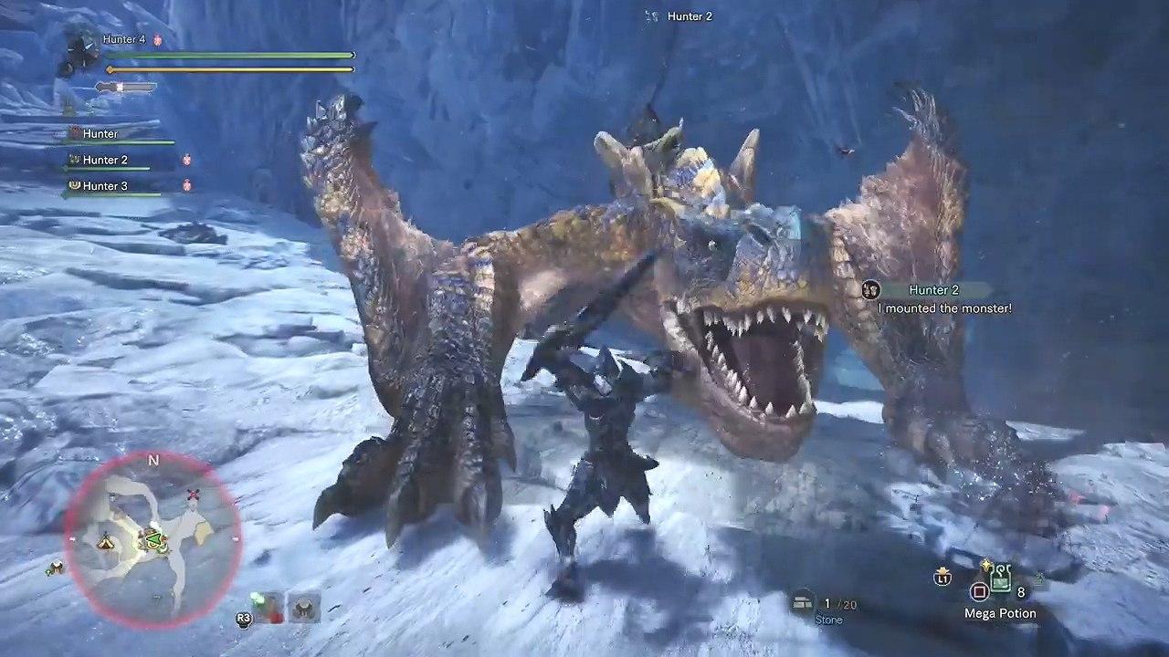 又见到轰爷种土豆了,外媒放出《怪物猎人 世界》冰原DLC讨伐轰龙录像