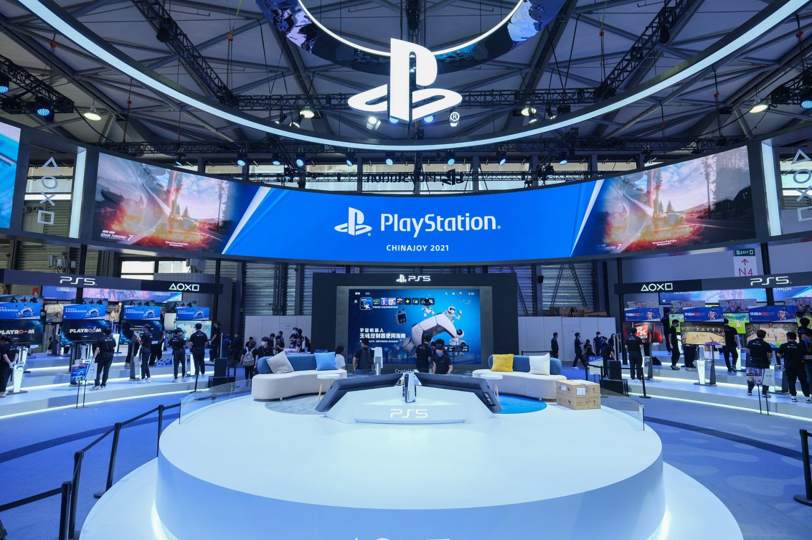 PlayStation携PS5参展第十九届ChinaJoy