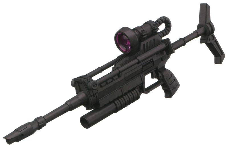 MS-14B的主武器是经过调整的M-16光束步枪。