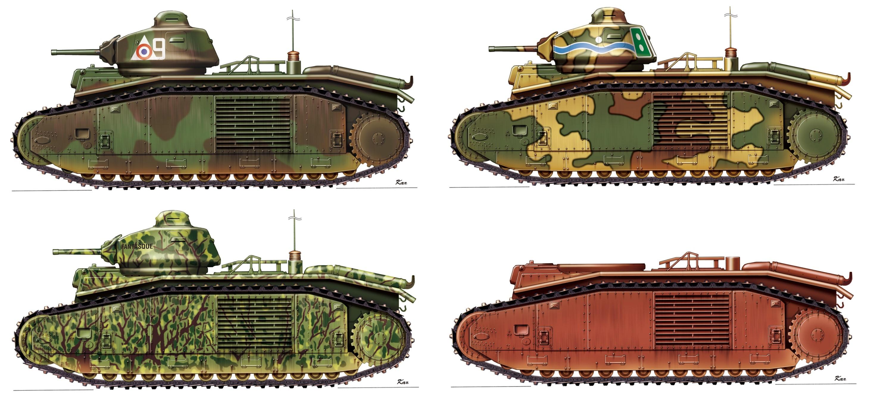 """""""法蘭西大鴨子"""":關於夏爾B系列戰車的誕生"""