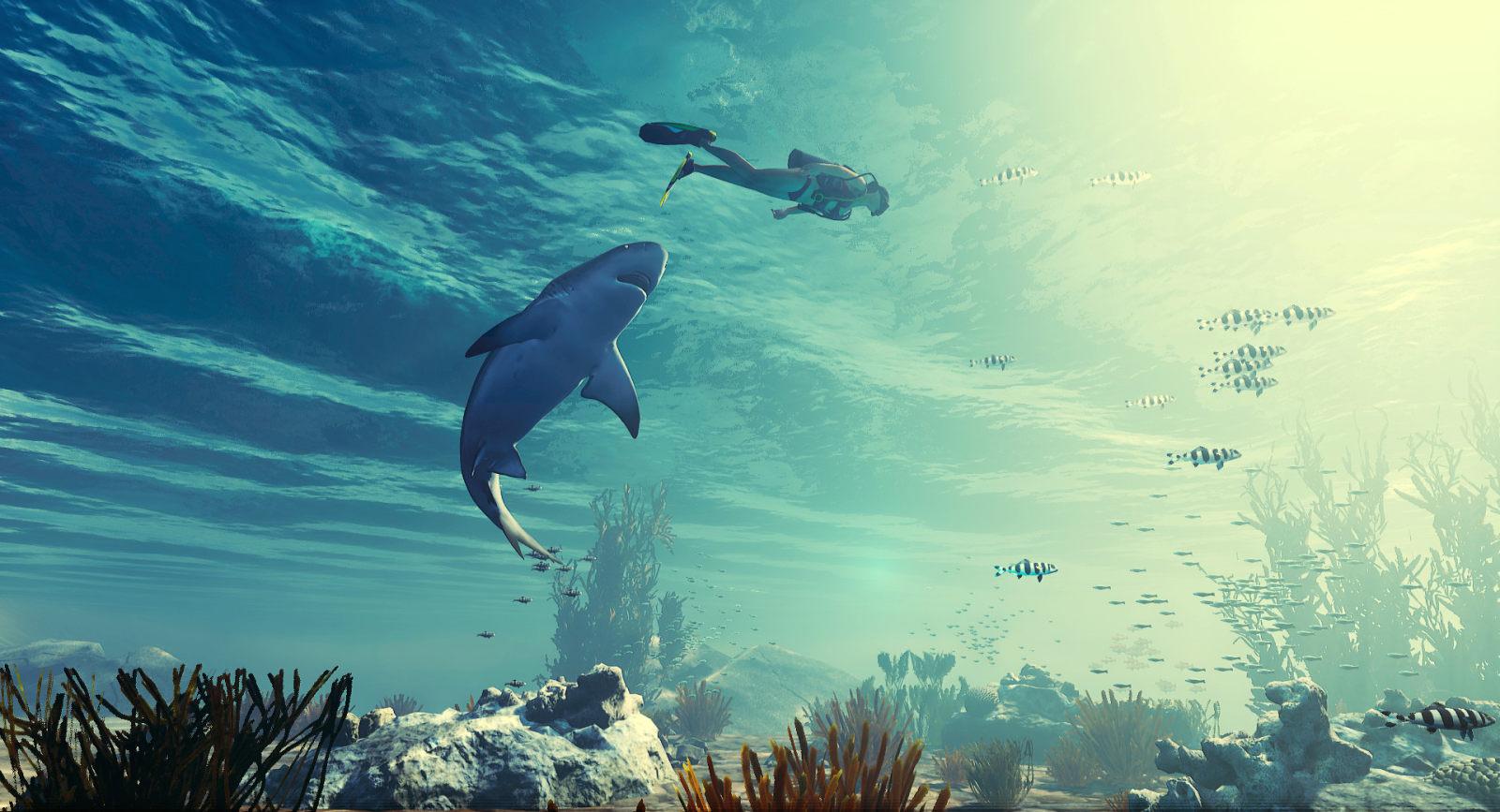 鲨鱼版的《GTA》!《Maneater》E3前方采访