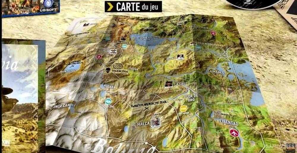 荒野的游戏地图