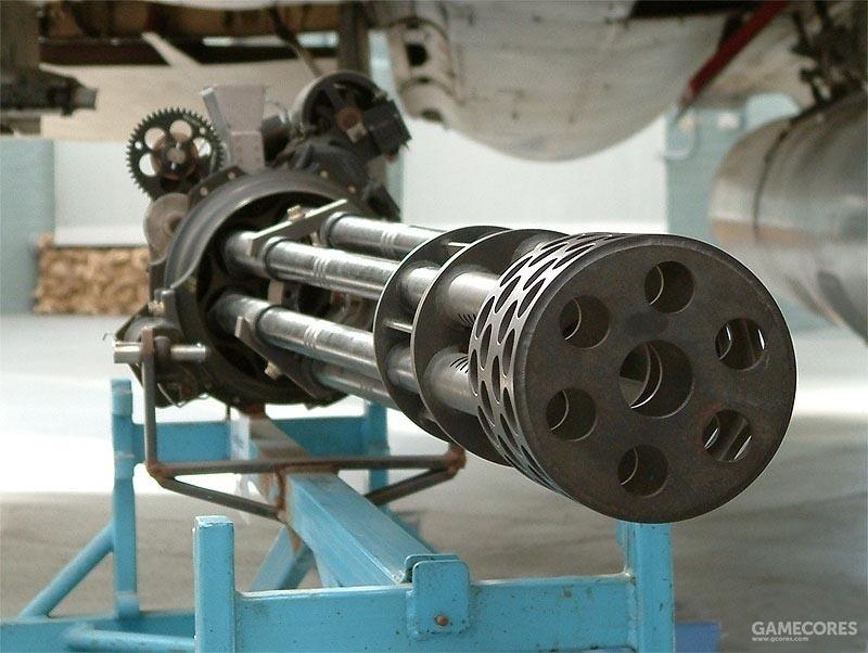 M61火神机炮,其变种包括不同口径和管数的机炮