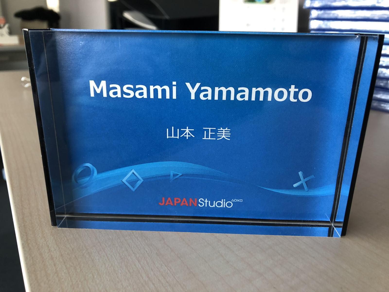 SIE日本工作室执行制作人山本正美宣布离职