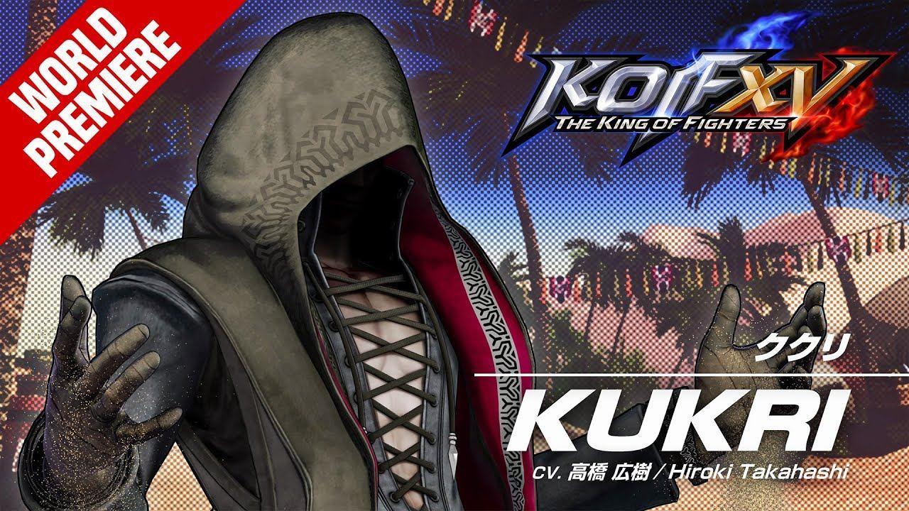 库克里参战:SNK公布《拳皇15》最新角色预告片