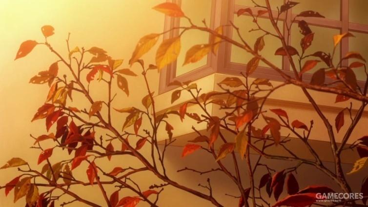 第三话中树叶的掉落来看,秋季无疑