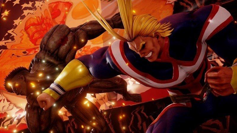 《Jump Force》公布新DLC角色:《我的英雄学院》欧尔迈特来了