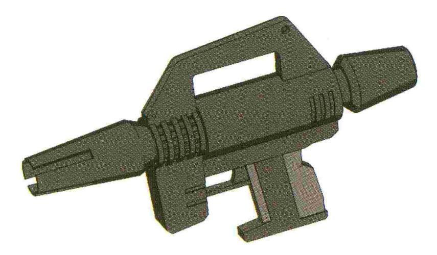 BOWA为RGM-79开发的BR-M-79C-1。生产成本大幅下降,并且搭载机功率要求也不高。尽管其远距离上威力因为光束收束问题严重不足。不过在MS常见的中近距离交战中完全够用。改进型的BR-M-78C-3在一年战争后期列装。枪身更短,并且追加了BP-SS-001瞄准器。