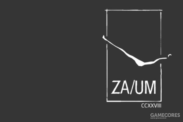 游戏开始时的ZA/UM logo