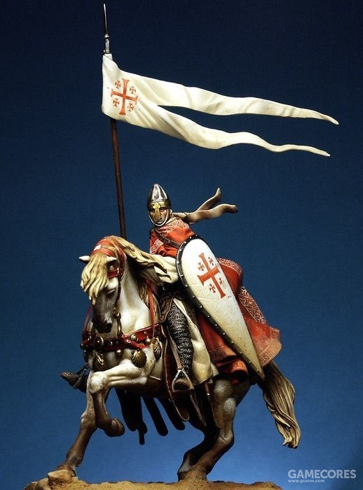 Knight of the Holy Sepulchre Order 54mm